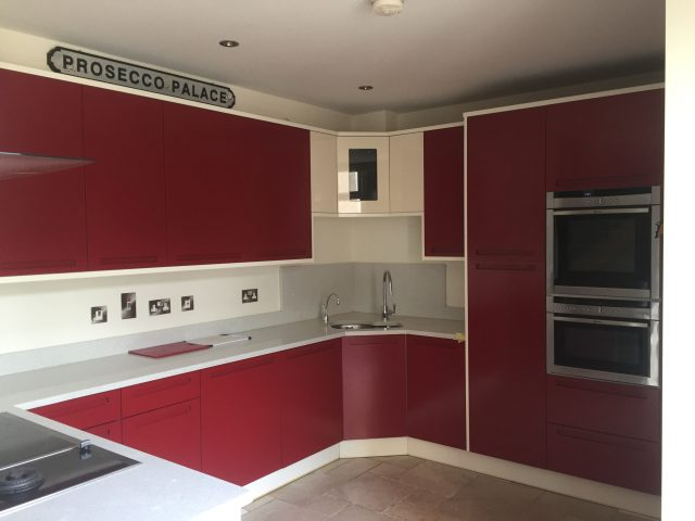 Kitchen Cupboards Respray Airless Spraying Cheap Painter Decorator Milton Keynes End of Tenancy Handyman Redecorating 2020 Company Painting Decorating Roof Lights (1)
