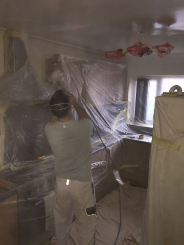 Airless Sprayer End of Tenancy Milton Keynes Painters Decorators Plastering Painting Decorating Landlord Property Services Newport Pagnell Broughton