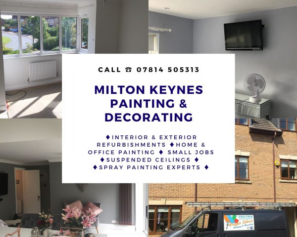 Milton Keynes Handyman Painter Decorator Interior Design Broughton Home Office May COVID 2020
